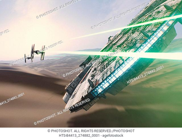 """""""Star Wars: Episode VII - The Force Awakens"""" (2015) Scene Still © 2015 Lucasfilm"