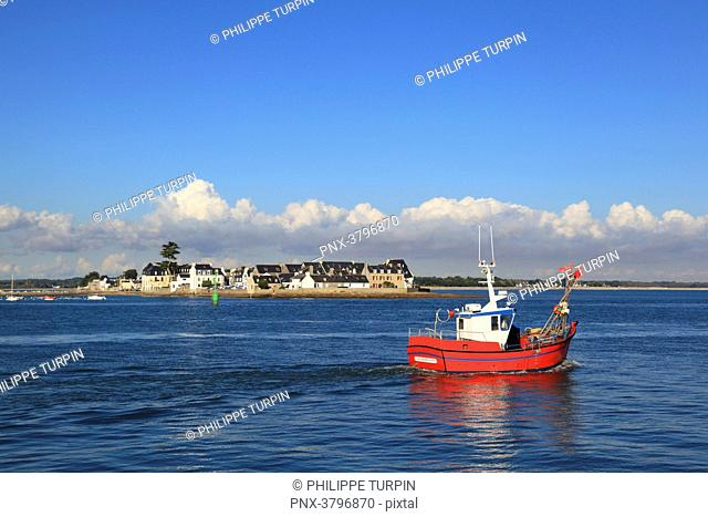 France, Brittany, Finistere. Tudy island
