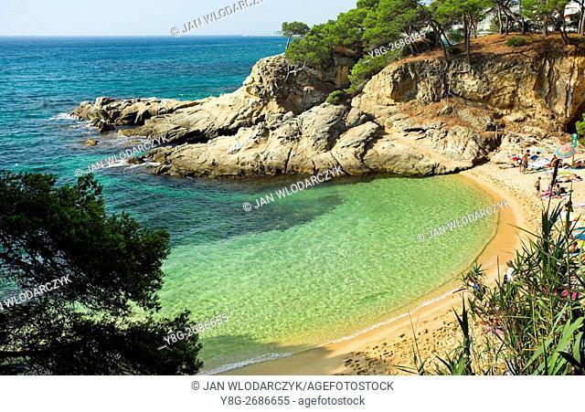 Cap Roig Beach, Costa Brava, Spain