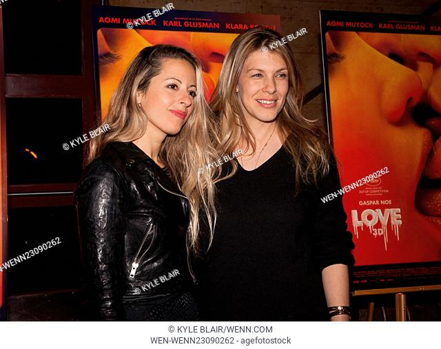 Love Special Screening Premiere at Village East Cinema in New York City Featuring: Crystal Moselle, Megan Delaney Where: New York, New York