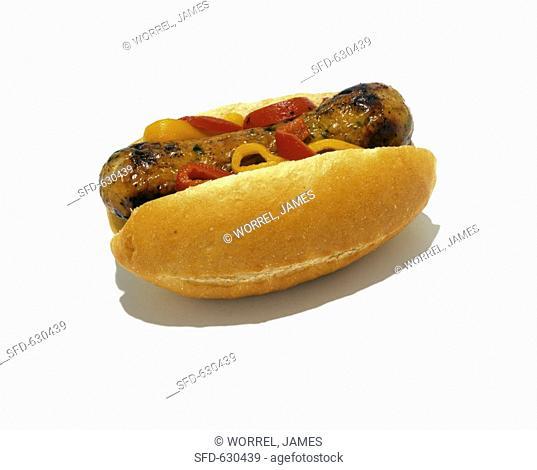 Italian Sausage and Pepper Sub