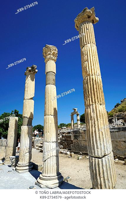 Ephesos Prytaneon. Ancient Greece. Asia Minor. Turkey