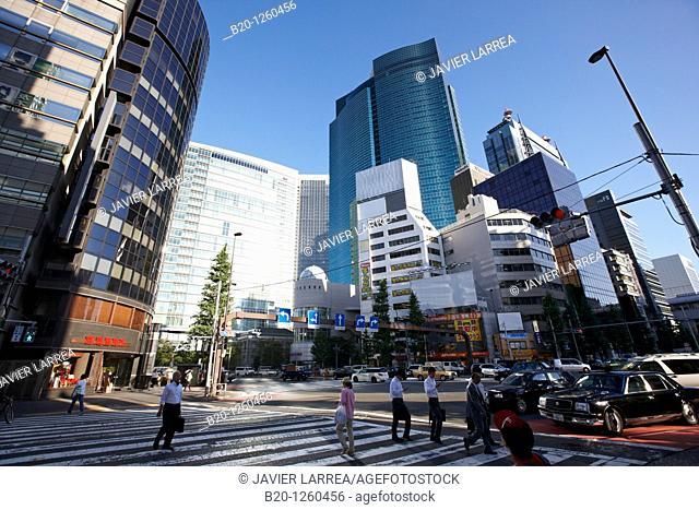 Shiodome City Center, Minato, Tokyo, Japan
