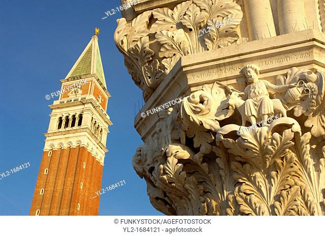 Doges Palace & Campinale Of St Marks