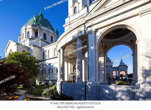 USA, New York, Western New York, Buffalo, Our Lady of Victory Basilica, exterior