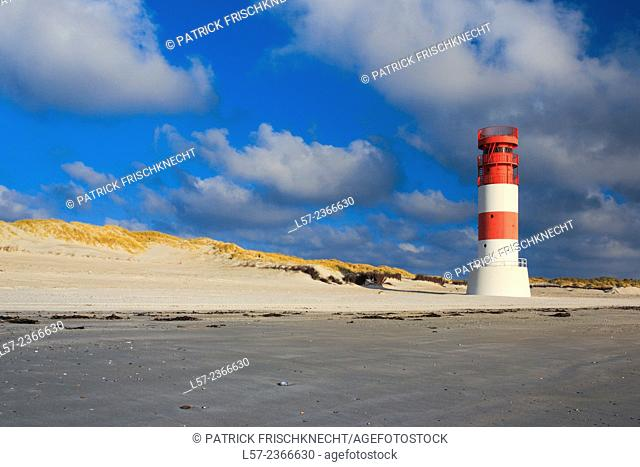 Lighthouse on Helgoland Duene, Germany