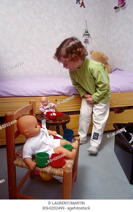 CHILD WITH ENURESIS<BR>Model