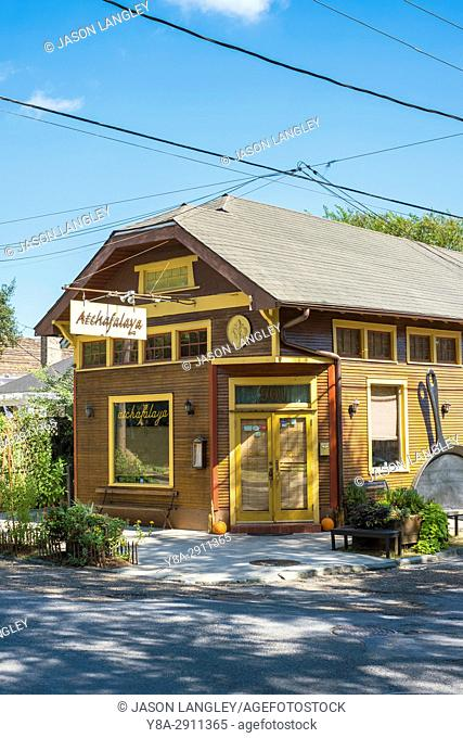 United States, Louisiana, New Orleans. Atchafalaya Restaurant in the Garden District