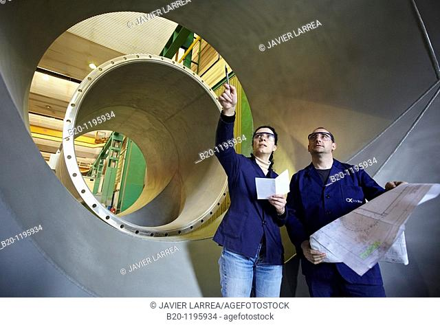Boilermaking, Gipuzkoa, Euskadi, Spain