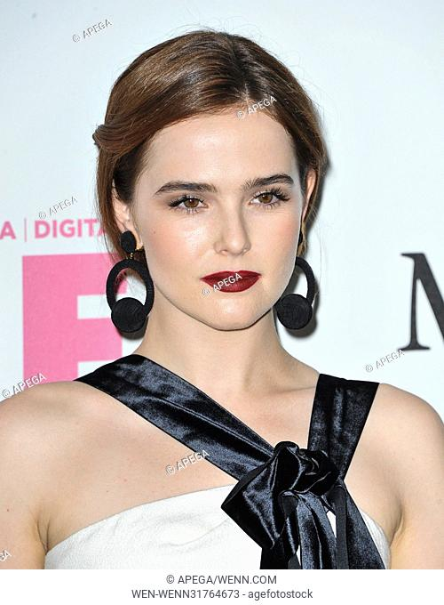 Women In Film 2017 Crystal and Lucy Awards held at The Beverly Hilton Hotel - Arrivals Featuring: Zoey Deutch Where: Los Angeles, California