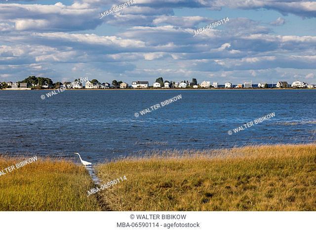 USA, Maine, Cape Porpoise, village harbor