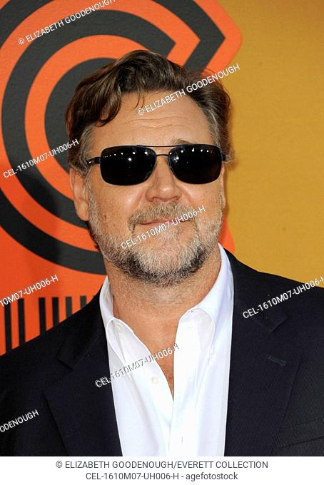 Russell Crowe at arrivals for THE NICE GUYS Premiere, TCL Chinese 6 Theatres (formerly Grauman's), Los Angeles, CA May 10, 2016