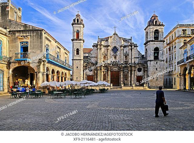 San Cristobal Cathedral square.Habana Vieja.Havana.Cuba