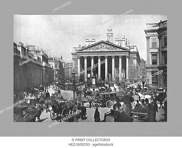 The Royal Exchange, London, c1900. Artist: Frith & Co
