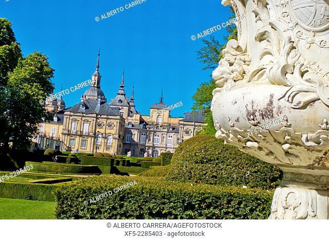 Royal Palace and Gardens, La Granja de San Ildefonso, Real Sitio de San Ildefonso, Biosphere Reserve UNESCO, San Ildefonso, Valsaín, Segovia, Castilla Y León