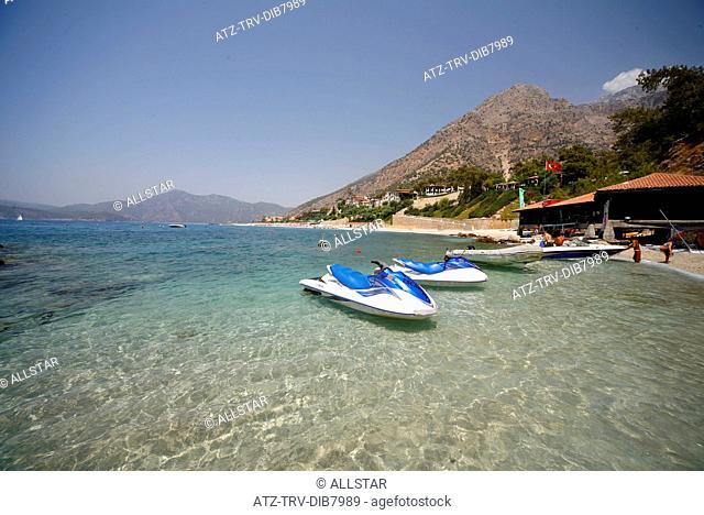 OLUDENIZ & AEGEAN SEA; SOUTH WEST TURKEY; 25/08/2007