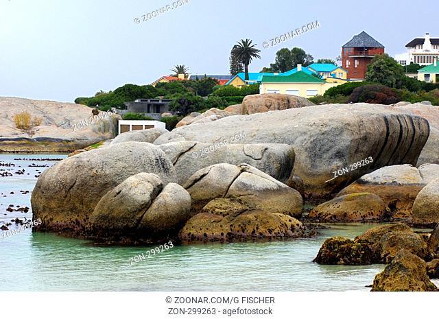 Boulders Beach bei Simon's Town, Western Cape Province, Südafrika / Boulders Beach near Simon's Town, Western Cape Province, South Africa