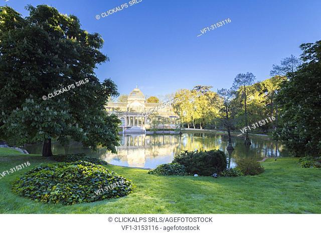 The Crystal Palace (Palacio de Cristal), Parque del Buen Retiro, Madrid, Spain