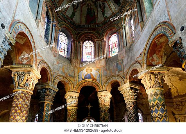France, Vienne, Poitiers, Sainte Radegonde church