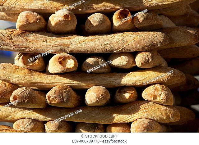 Stacked baguettes