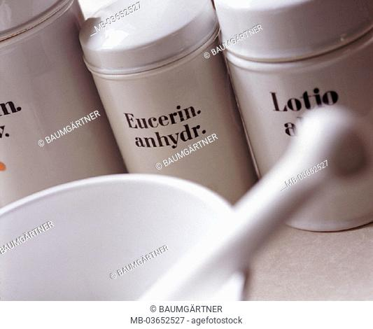 Pharmacy, salve production