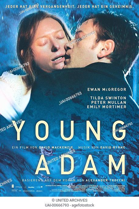 Filmplakat Film, Fernsehen, Kino, Thriller, Filmplakat Regie: David Mackenzie / YOUNG ADAM England 2003