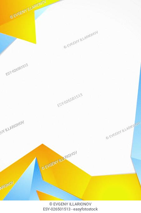 Abstract tech corporate bright background