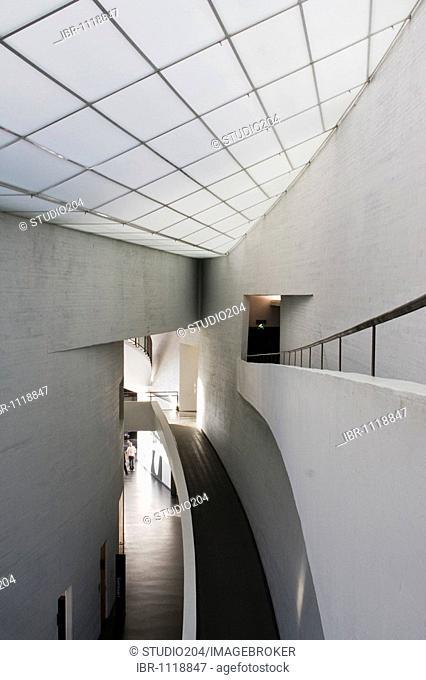 Interior of Kiasma museum of contemporary art, Helsinki, Finland, Europe