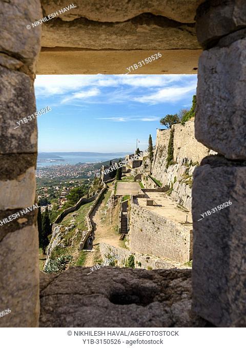 Klis Fortress near Split, Croatia