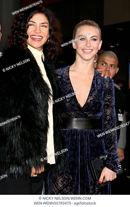 Los Angeles premiere of 'XXX: Return of Xander Cage' held at TCL Chinese Theater IMAX - Arrivals Featuring: Jessica Szohr, Julianne Hough Where: Los Angeles