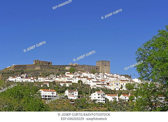 village of Castelo de Vide, Alentejo region, Portugal