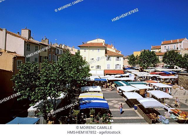France, Var, Fréjus, Market