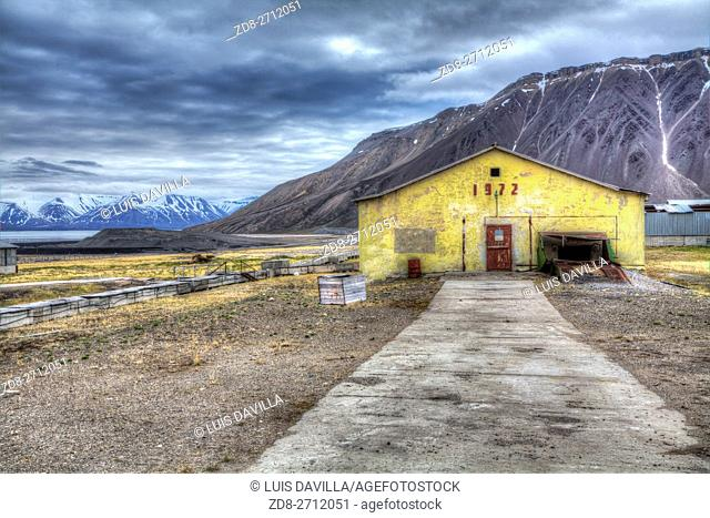 Pyramiden was founded by Sweden in 1910 and sold to the Soviet Union in 1927. It lies at the foot of the Billefjorden on the island of Spitsbergen and is named...
