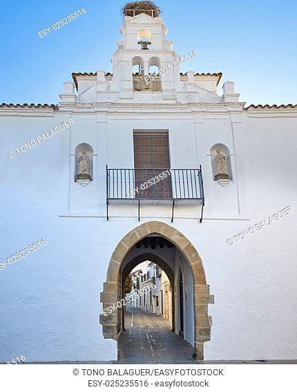 Zafra Arco de Jerez Puerta Arch in Extremadura of Spain by via de la Plata