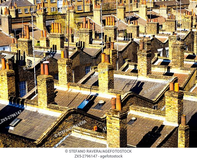 Chimneys in Lambeth - London, England
