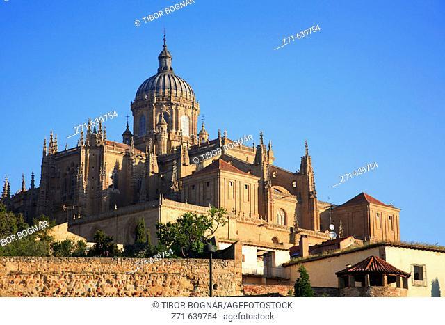 Spain, Castilla Leon, Salamanca, Cathedral