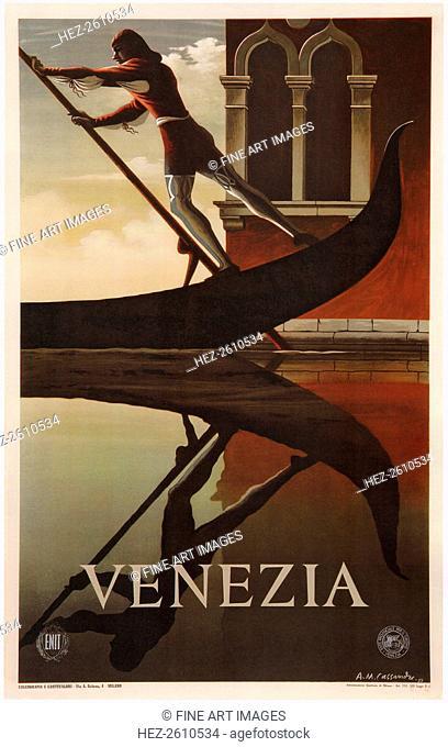 Venice, 1951. Artist: Cassandre, Adolphe Mouron (1901-1968)
