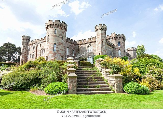 Cholmondeley Castle is a country house in the parish of Cholmondeley, Cheshire, England, UK