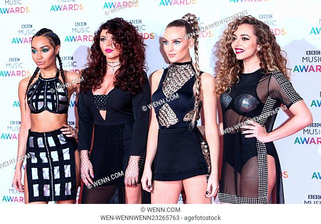 Red Carpet arrivals for the BBC Music Awards at the Genting Arena in Birmingham Featuring: Little Mix, Perrie Edwards, Jesy Nelson, Jade Thirlwell
