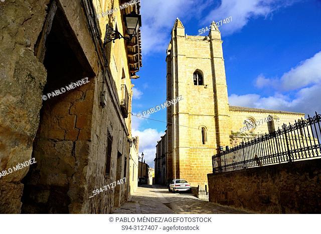Church of San Juan in Castrojeriz, Burgos, Spain
