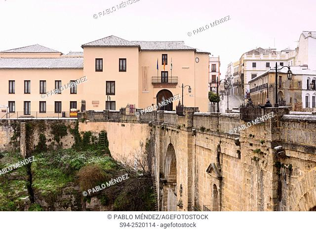 View of Ronda in Malaga province, Andalusia, Spain