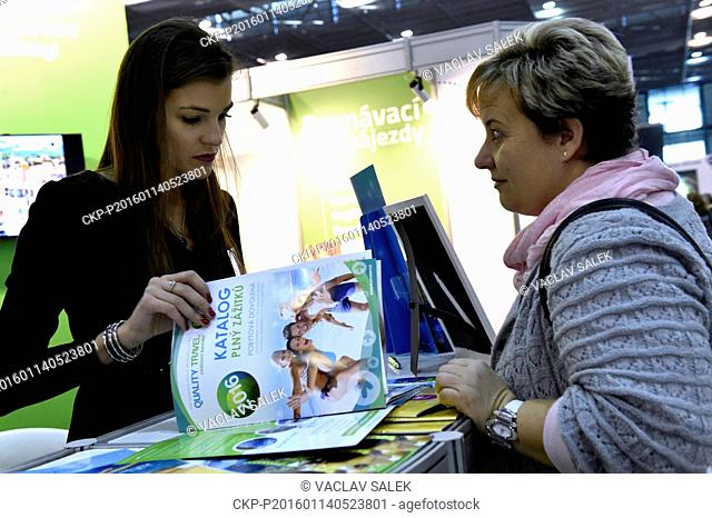 Central Europe's largest presentation of the tourism industry with emphasis on regions is again take place at the Brno Exhibition Centre, Czech Republic