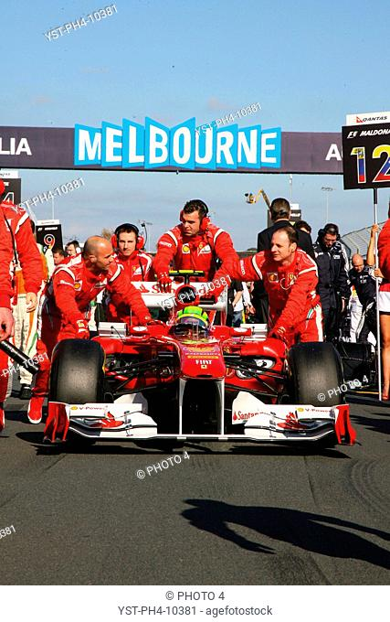 Racing, car, Felipe Massa, Australian Grand Prix, Melbourne, Australia