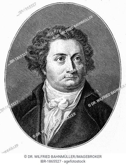 August Wilhelm Iffland (1759-1814), actor, theater manager, dramatist