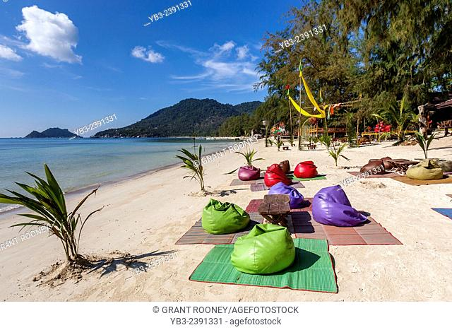 Beach Bar/Cafe, Hat Sairee Beach, Ko Tao, Thailand