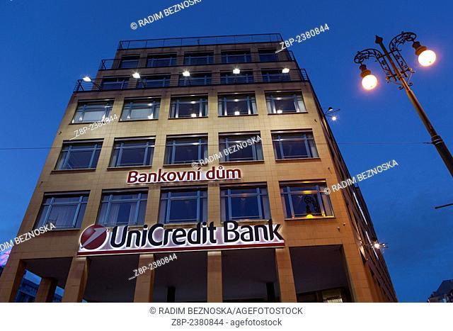 Bank House, UniCredit Bank Prague