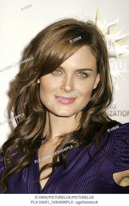 "Emily Deschanel  08/16/08 """"3rd Hot in Hollywood"""" @ The Avalon, Hollywood Photo by Ima Kuroda/HNW / PictureLux (August 16, 2008)"