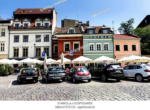 Europe, Poland, Lesser Poland, Krakow, district Kazimierz, Szeroka street