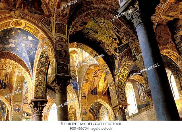 Martorana San Cataldo. Palerme (palermo). Sicily. Italy