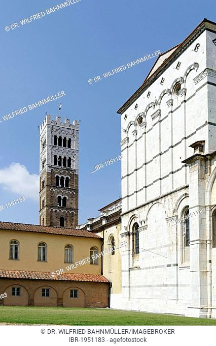 Duomo San Martino cathedral, Lucca, Tuscany, Italy, Europe